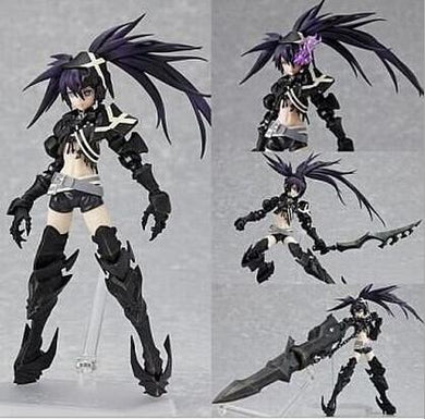Black Rock Shooter Movable Action Figure Mato Kuroi With Box