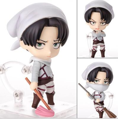 Attack On Titan Levi Rivaille Rival Ackerman Action Figure