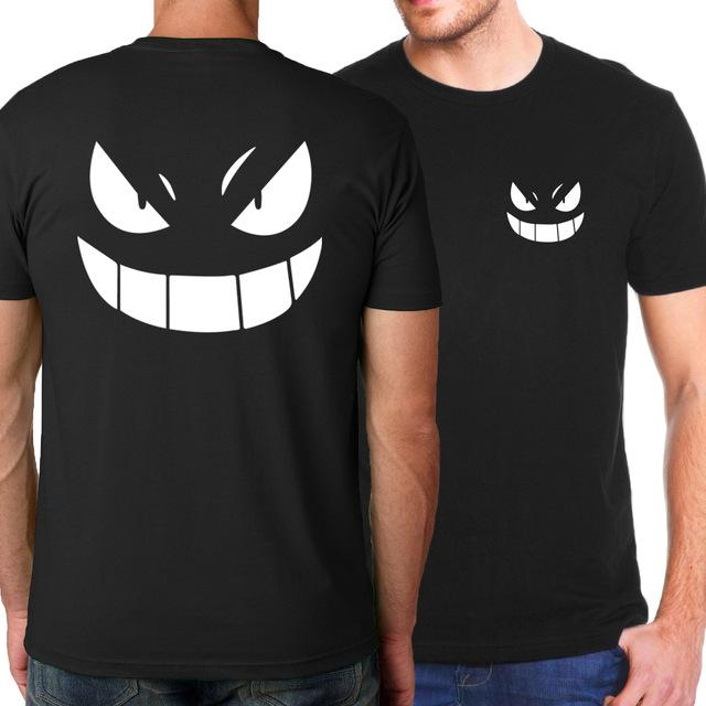 Pokemon Gengar Anime One Peice Bleach Naruto T-Shirt