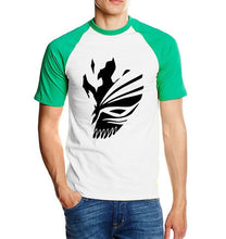 Load image into Gallery viewer, Bleach Kurosaki Ichigo Cotton Color Sleeve T-Shirt (6 Colors)
