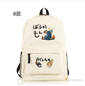 Barakamon Anime Backpack School Bag