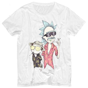 Rick And Morty Fear And Loathing Las Vegas Parody T-Shirt