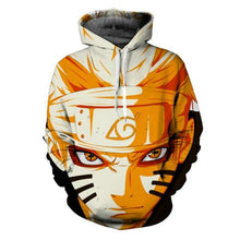 Load image into Gallery viewer, Uzumaki Naruto Sasuke 3D Anime Hoodie Jacket
