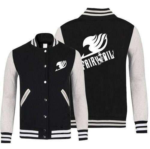 Fairy Tail Anime Jersey Jacket