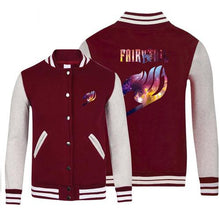 Load image into Gallery viewer, Fairy Tail Anime Jersey Jacket