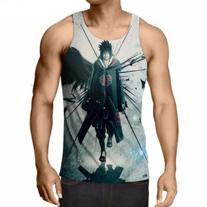 Naruto Anime Fitness 3D Tank Top