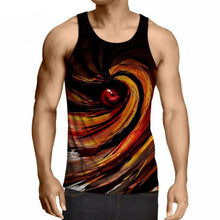 Load image into Gallery viewer, Naruto Anime Fitness 3D Tank Top