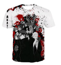 Load image into Gallery viewer, Naruto Casual Hip Hip Street Wear T-Shirt