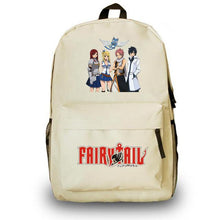 Load image into Gallery viewer, Fairy Tail School Bag Anime Backpack