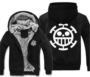 One Piece Thick Winter Hoodie Jacket