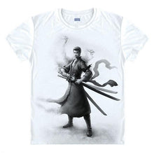 Load image into Gallery viewer, One Piece T-Shirt Roronoa Zoro Mihawk Prentice Strawhat Legion Swordsman