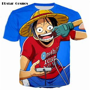 One Piece 3D Hipster Ace Summer T-Shirt 8 Styles