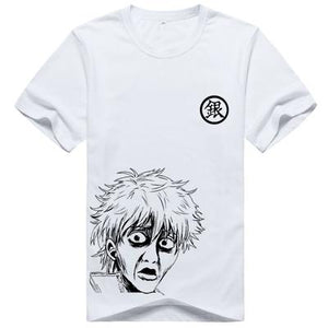 Gintama Silver Soul Funny Face Anime T-Shirt