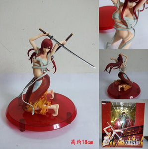 Fairy Tail Elza Scarlet Action Figure Collectible Model
