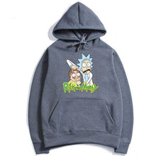 Load image into Gallery viewer, Rick And Morty Stretch Eyes Hoodie Sweatshirt