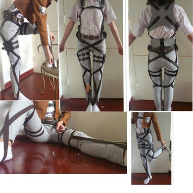 Attack On Titan Cosplay Shingeki No Kyojin Recon Corps Harness Belts