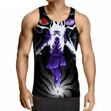 Load image into Gallery viewer, Uzumaki Naruto 3D Anime Tank Top