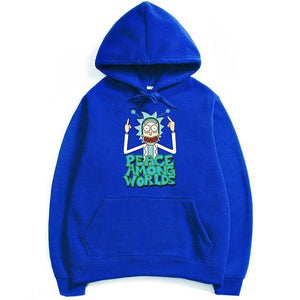 Rick And Morty Peace Among Worlds Anime Hoodie