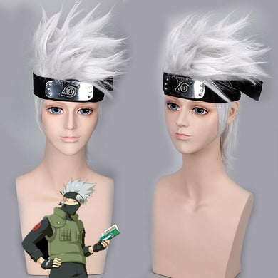 Naruto Hatake Kakashi Cosplay Wig (Headwear NOT Include)