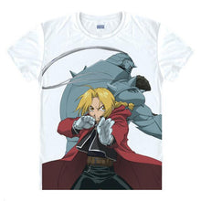 Load image into Gallery viewer, Fullmetal Alchemist Steel Anime T-Shirt (19 Styles)