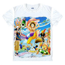Load image into Gallery viewer, Luffy T-Shirt Monkey D One Piece Anime 21 Styles