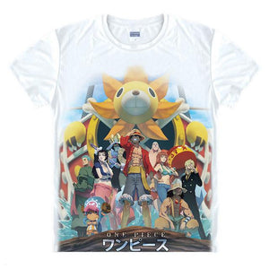 Luffy T-Shirt Monkey D One Piece Anime 21 Styles