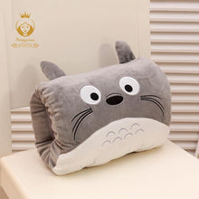 Load image into Gallery viewer, Cartoon Totoro Hand Warmer Winter Plush Pillow