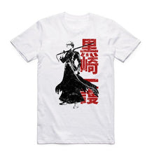 Load image into Gallery viewer, Bleach Japan Anime White T-Shirt 12 Styles