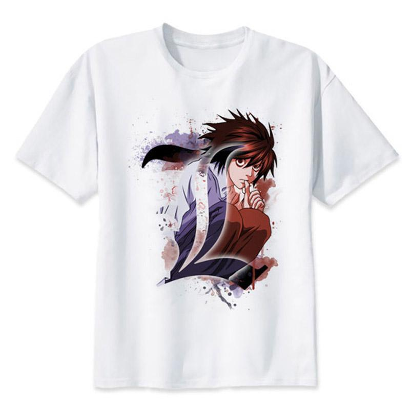 Death Note L. Lawliet Anime T-Shirt