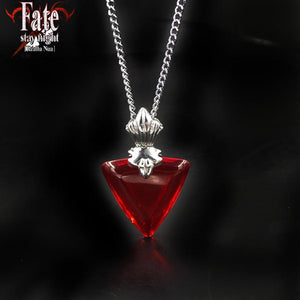 Fate Stay Night Zero Archer Master Tohsaka Rin Cosplay Necklace