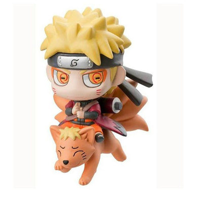 Naruto With Nine Fox Mount Kyuubi Action Figure