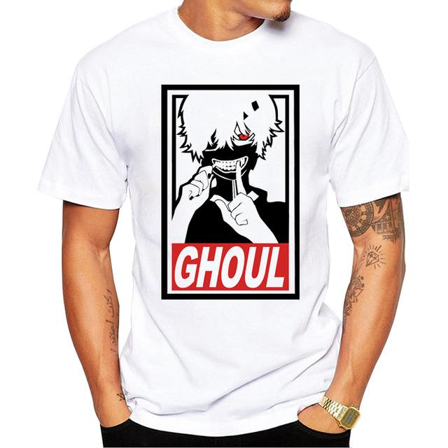 Tokyo Ghoul Supreme Parody Style T-Shirt