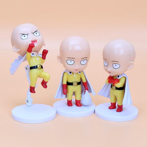 One Punch Man Action Figure Saitama Sensei Collectible Toy