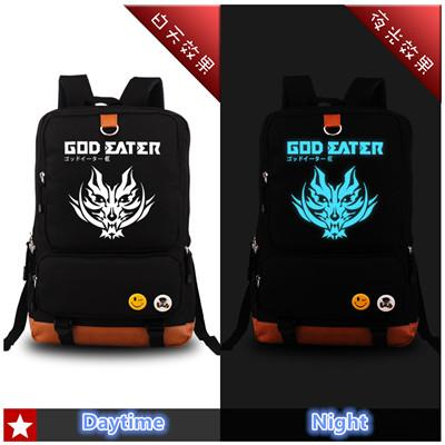 God Eater Glow In The Dark Anime Backpack