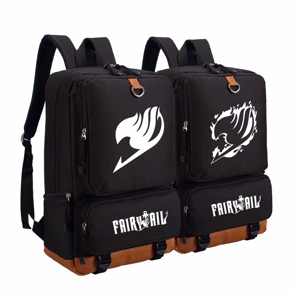 Load image into gallery viewer fairy tail travel school anime backpack