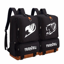 Load image into Gallery viewer, Fairy Tail Travel School Anime Backpack