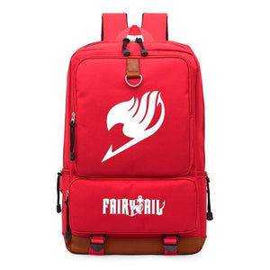 Fairy Tail Travel School Anime Backpack
