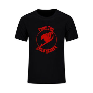 Fairy Tail Classic Natsu Dragneel Hip Hip Style Anime T-Shirt