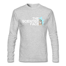 Load image into Gallery viewer, Rick And Morty Scientist Face Long Sleeve T-Shirt