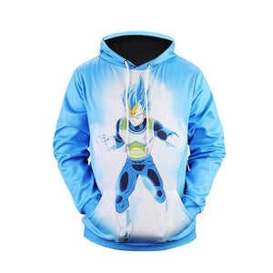 Dragon Ball Z 3D Print Hoodie Sweatshirt  Goku Vegeta