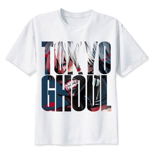 Tokyo Ghoul Summer Fitness T-Shirts (9 Styles)