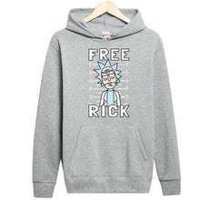 Load image into Gallery viewer, Rick And Morty Free Rick Funny Pullover Hoodie