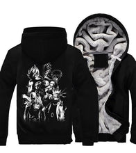 Load image into Gallery viewer, Anime Collab One Piece Dragon Ball Naruto Bleach Hoodie