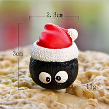 Load image into Gallery viewer, My Neighbor Totoro Christmas Hat Action Figure Kawaii