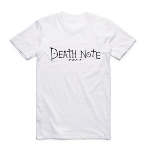 Death Is Equal Death Note Anime T-Shirt Japanese Style