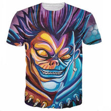 Load image into Gallery viewer, Death Note Shinigami 3D Hipster Style Ryuk T-Shirt