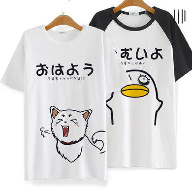 Gintama Elizabeth Cotton Loose T-Shirt Kawaii