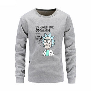 Rick And Morty Your Opinion Means Nothing Hoodie