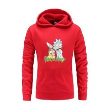 Load image into Gallery viewer, Rick And Morty Funny Print Hoodie