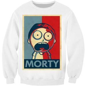 Rick And Morty Funny 3D Hipster Sweatshirt Hoodie